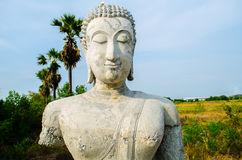 Ancient Buddha statues Stock Photography