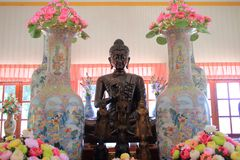 Ancient buddha statues Stock Images