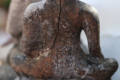 Ancient Buddha statues  in Nakhonsawan Thailand Stock Image