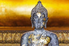 Ancient Buddha in Thailand Stock Images