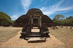 Ancient Buddhist dagoba Pabula Vihara. Sri Lanka stock images
