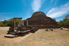Ancient Buddhist dagoba (stupe) Pabula Vihara Stock Image