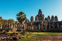 Ancient buddhist khmer temple Royalty Free Stock Image