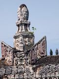Ancient buddhist khmer temple. Art Royalty Free Stock Image