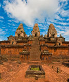 Ancient buddhist khmer temple Stock Photos