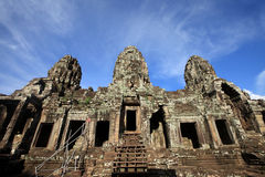 Ancient buddhist khmer temple in Angkor Wat, Cambodia. Bayon Pra Royalty Free Stock Photography