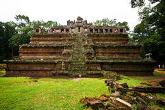 Ancient buddhist khmer temple Royalty Free Stock Images