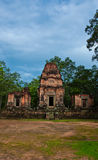 Ancient buddhist khmer temple in Angkor Wat, Stock Image