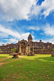 Ancient buddhist khmer temple in Angkor Wat complex. Cambodia Stock Image