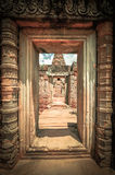Ancient buddhist khmer temple in Angkor Wat complex, Siem Reap C Royalty Free Stock Photography
