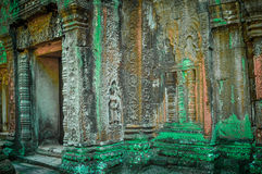 Ancient buddhist khmer temple in Angkor Wat complex, Siem Reap C Stock Image