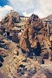 Ancient Buddhist monastery Dhankar Gompa Stock Image