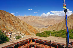 Ancient Buddhist Monastery of Hemis Royalty Free Stock Images
