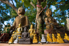 Ancient Buddhist Statues Stock Image