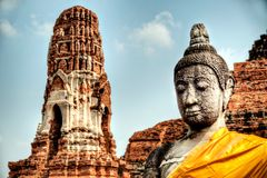 Ancient Buddhist Temple Royalty Free Stock Photography