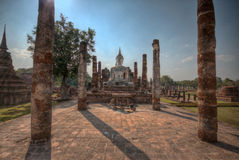 Ancient Buddhist Temple Stock Photo