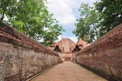 Ancient Buddhist temple. Ayutthaya Thailand Royalty Free Stock Image