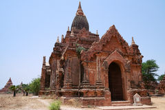 Ancient Buddhist Temple in Bagan Stock Images