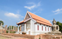 Ancient Buddhist temple in Thailand Stock Photography