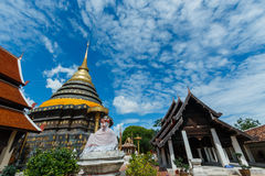 Ancient Buddhist temple of 'Wat Phra That Lampang Luang' Stock Images