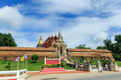 Ancient Buddhist temple of 'Wat Phra That Lampang Luang' Stock Photography