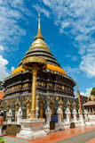 Ancient Buddhist temple of 'Wat Phra That Lampang Luang' Royalty Free Stock Images