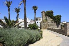 Ancient build in the village of tarifa, Cádiz Stock Photo