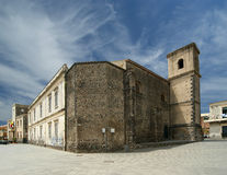 The ancient building. Acicastello, Sicily. Italy Royalty Free Stock Photo
