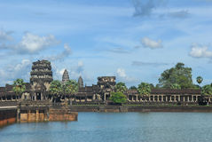 Ancient Building at Angkor Stock Images