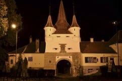 Ancient building architecture in Brasov Romania Stock Image