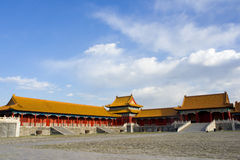 Ancient building of Forbidden City Stock Photography