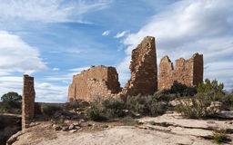 Ancient Building at Hovenweep National Monument Royalty Free Stock Image