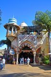 Ancient Building in Universal Orlando, FL, USA. Ancient Building in Islands of Adventure in Universal Studios Florida, Orlando, Florida, USA royalty free stock image