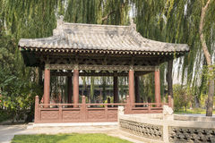 Ancient Building in Jinci Temple in China #2 Stock Images