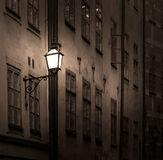 Ancient building with lantern Stock Photography