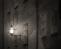 Ancient building with lantern Royalty Free Stock Photo