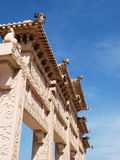 Ancient building local structure details Royalty Free Stock Image
