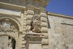 Ancient Building in Malta Stock Image