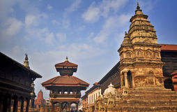 Ancient building of nepal Stock Photo