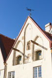 Ancient building in the old town of Tallinn, Estonia Royalty Free Stock Image