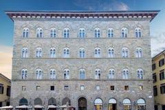 Ancient building in Piazza della Signoria Stock Photography