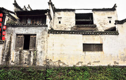 Ancient building of qing and ming dynasty. At likeng , wuyuan city,jiangxi province,china Stock Images
