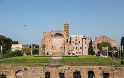 Ancient Building in Rome Royalty Free Stock Photo