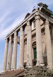 Ancient building in Rome Stock Image