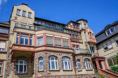 Ancient building, Ruedesheim, Rheinland-Pfalz Royalty Free Stock Images