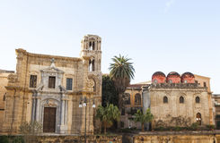 Ancient building. Ancient San Cataldo church in palermo italy Stock Photos