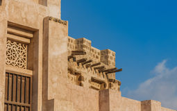 Ancient building in Sharjah Stock Photos