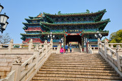 The ancient building steps Royalty Free Stock Images