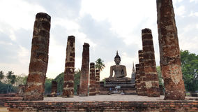Ancient building in Sukhothai. Thailand stock images