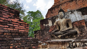 Ancient building in Sukhothai. Thailand stock photography